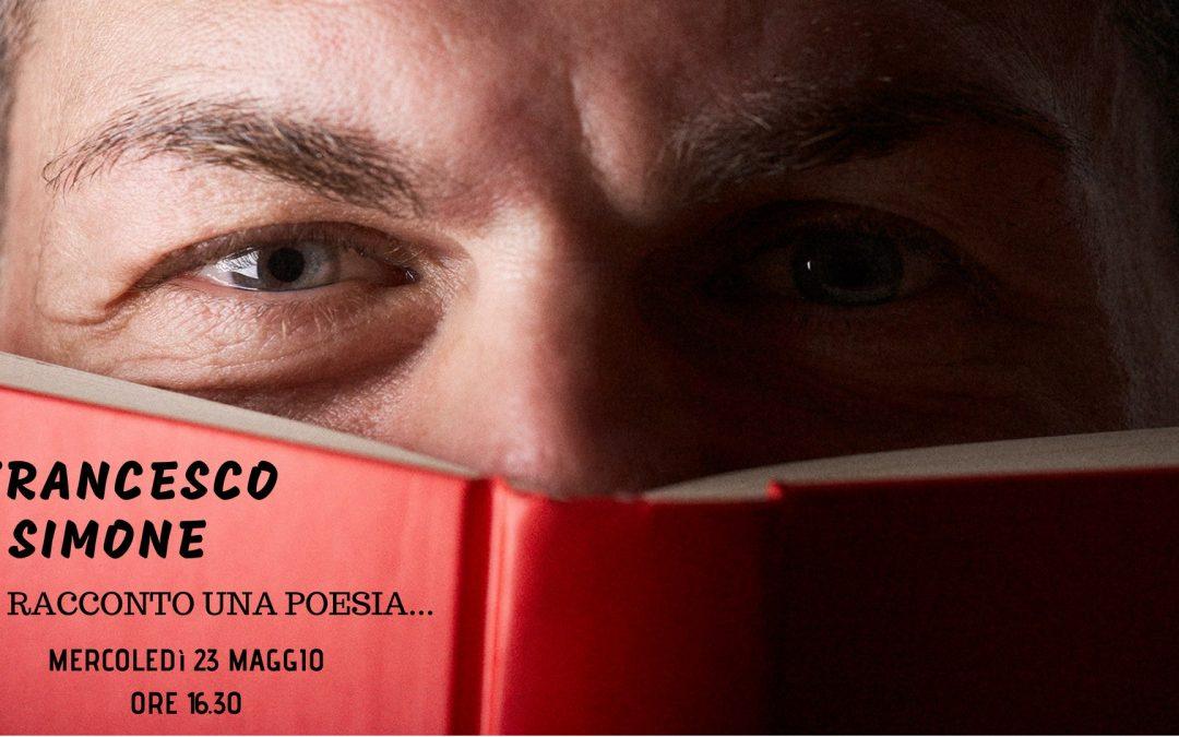Incontro con il trainer poeta Francesco Simone – Centro San Zeno Pisa