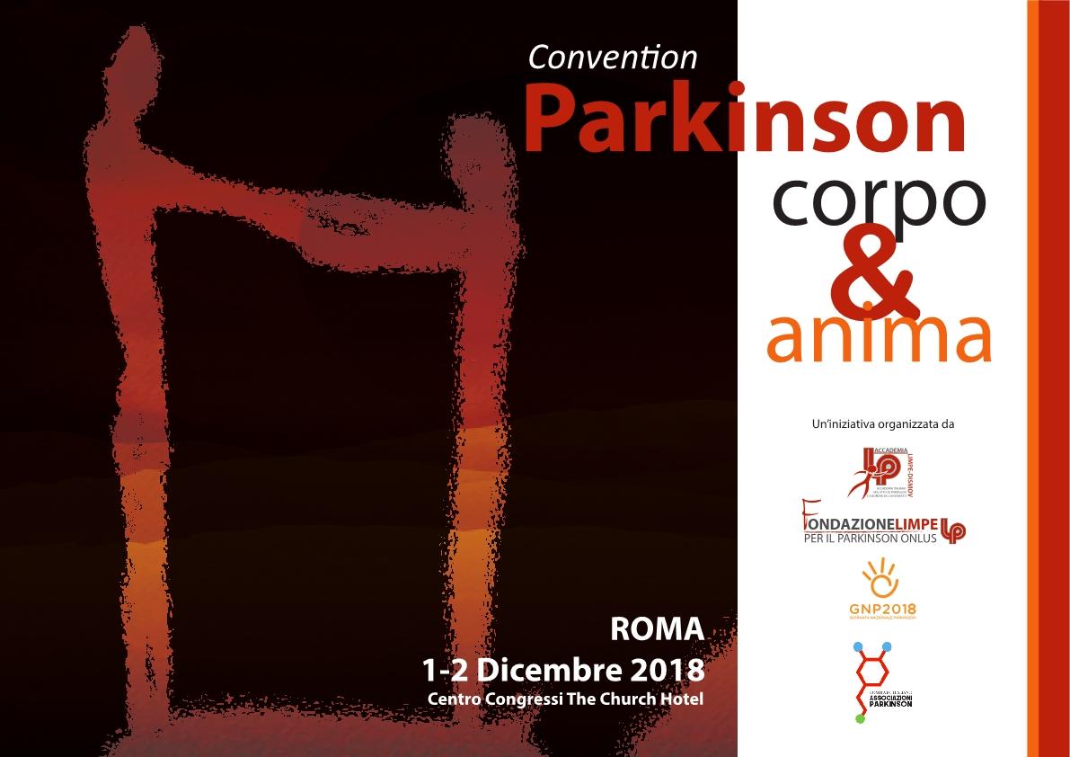 Parkinson: Corpo e Anima - LIMPE DISMOV Roma, 1-2 dicembre 2018