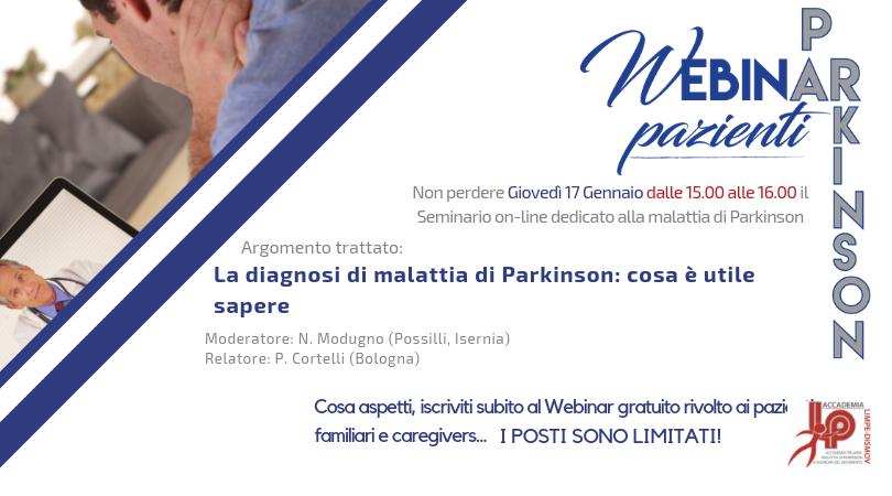 Pietro Cortelli. La diagnosi di malattia di Parkinson: cosa è utile sapere
