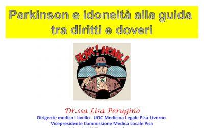 Parkinson e patente di guida-Relazione della dott.ssa Lisa Perugino_ASL Pisa