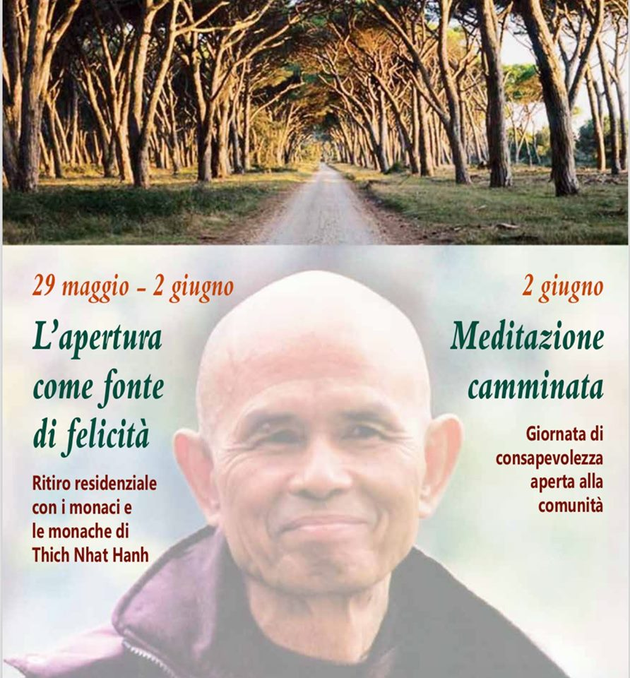 Domenica 2 giugno 2019-Tenuta di San Rossore (Pisa)-Pratiche di consapevolezza e Meditazione camminata