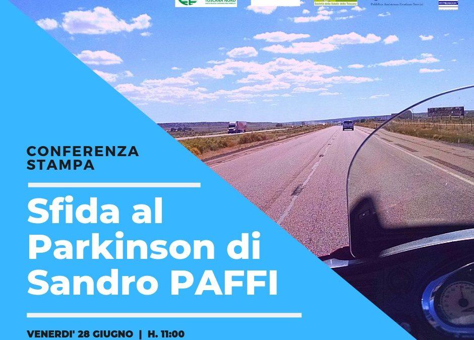 Sandro sfida il Parkinson, da Pisa in Romania in moto con la teleassistenza di MedBook