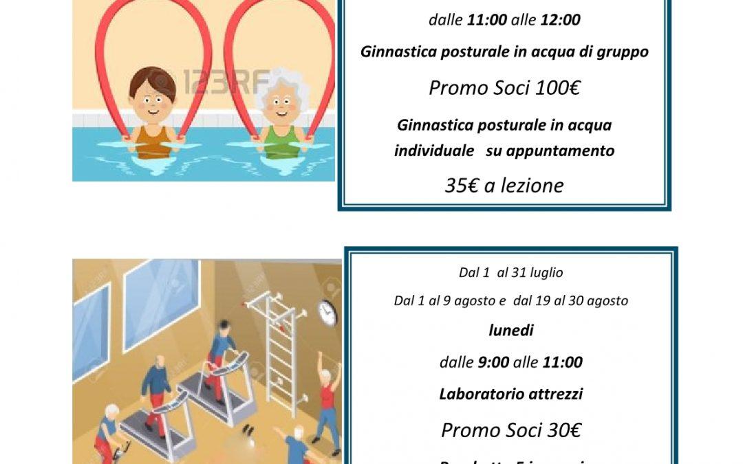 Pisa-Attività motoria estiva con i fisioterapisti dell'APS La Tartaruga