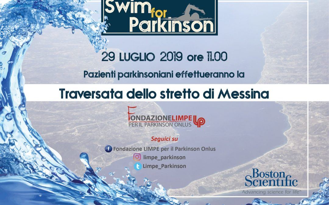 Swim for Parkinson-Traversata dello Stretto di Messina-29 luglio 2019