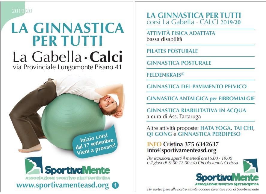 Corsi Calci Pisa Sportivamente 2019-20