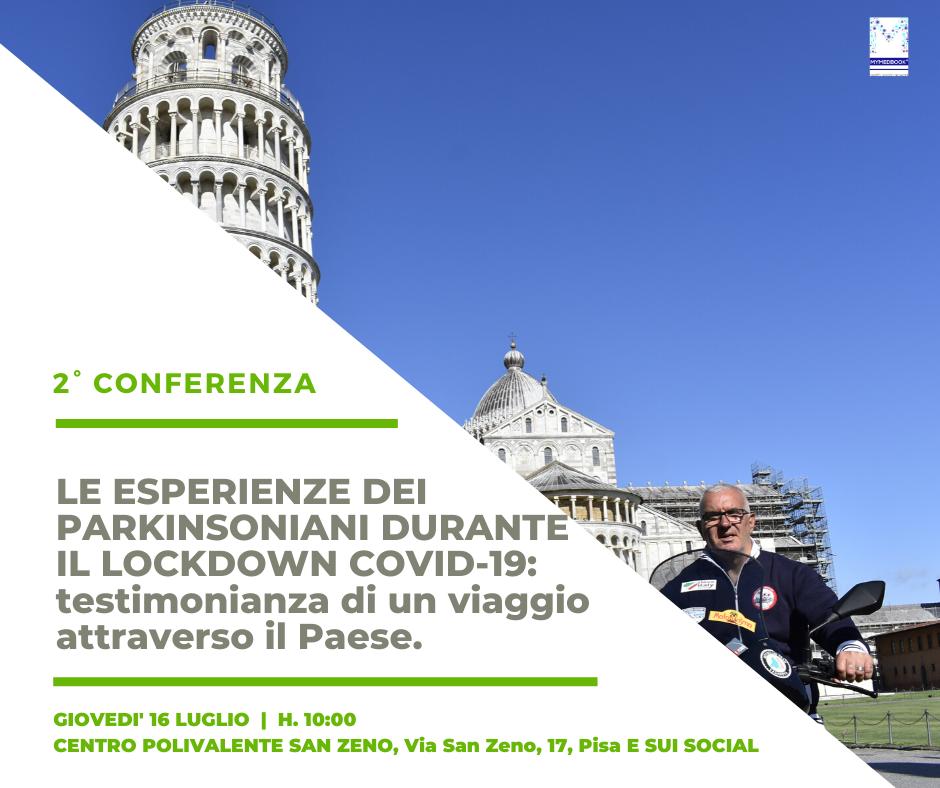 16 luglio 2020_Incontro con Sandro Paffi e la sua esperienza con I love Italy