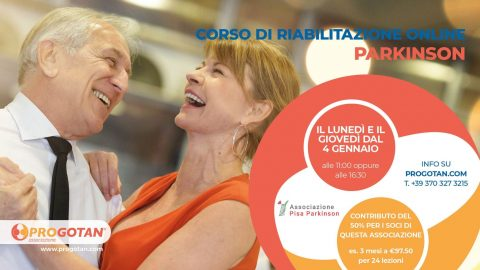 PROGOTAN: percorsi di riabilitazione online per Parkinson