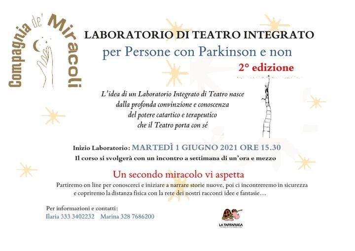 Parkinson_Laboratorio Teatrale dell'APS La Tartaruga_Pisa