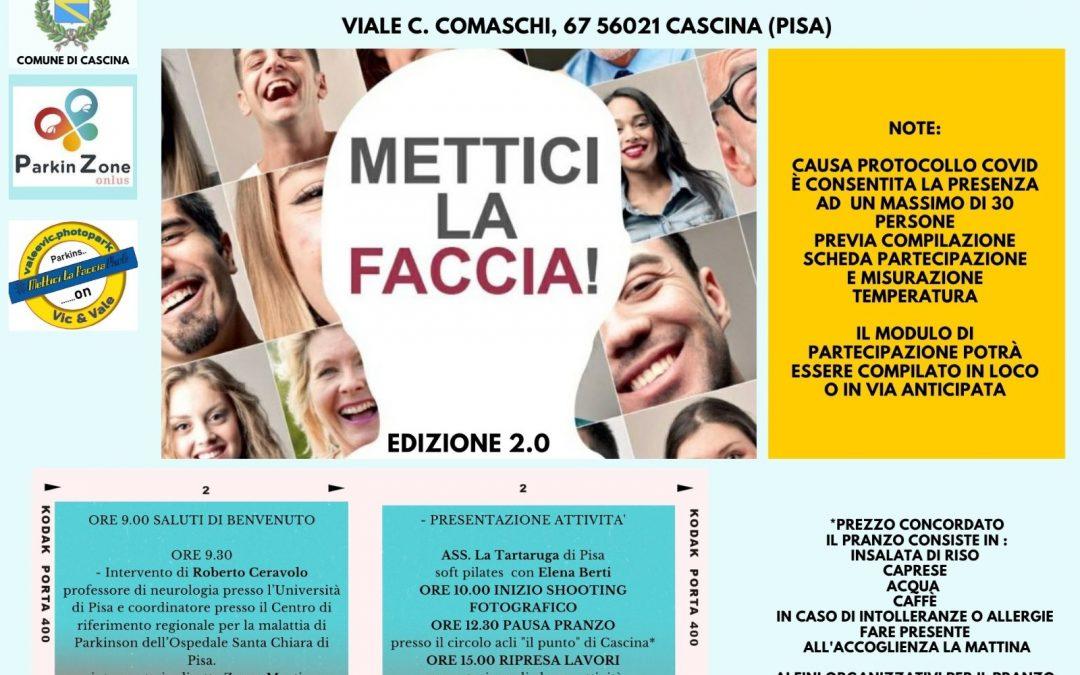 Parkinson_Mettici la faccia 2021 a Cascina (PI) con Valeria Bastoncelli e Vic Parky (Vittorio Andretta)